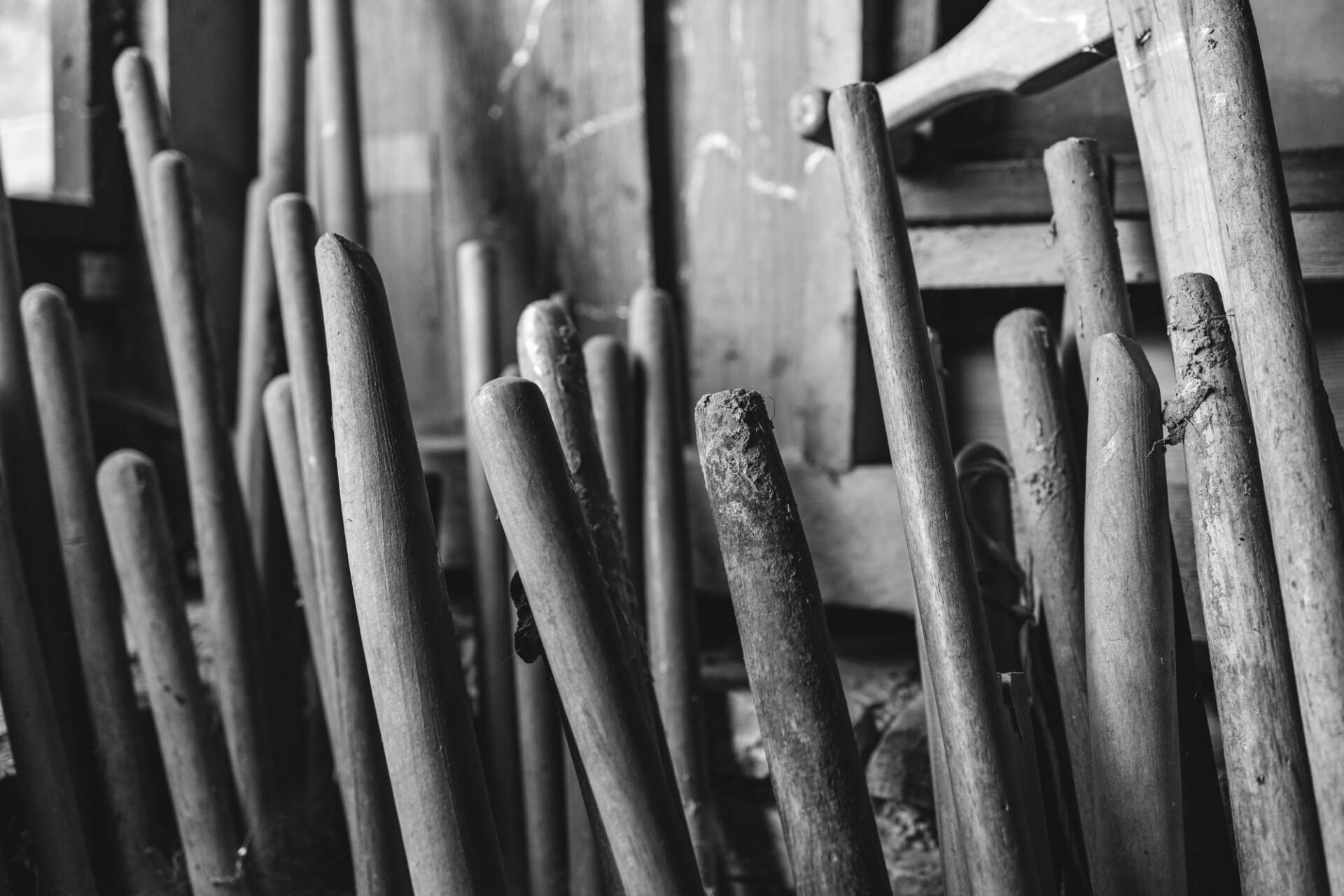 Old broomsticks