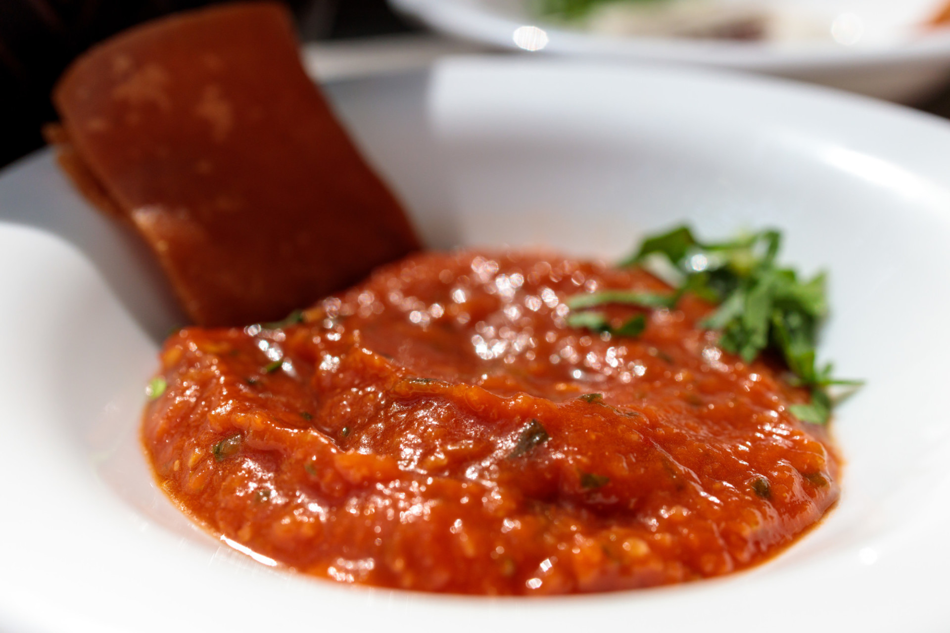 Arabic dip made with tomatoes and peppers
