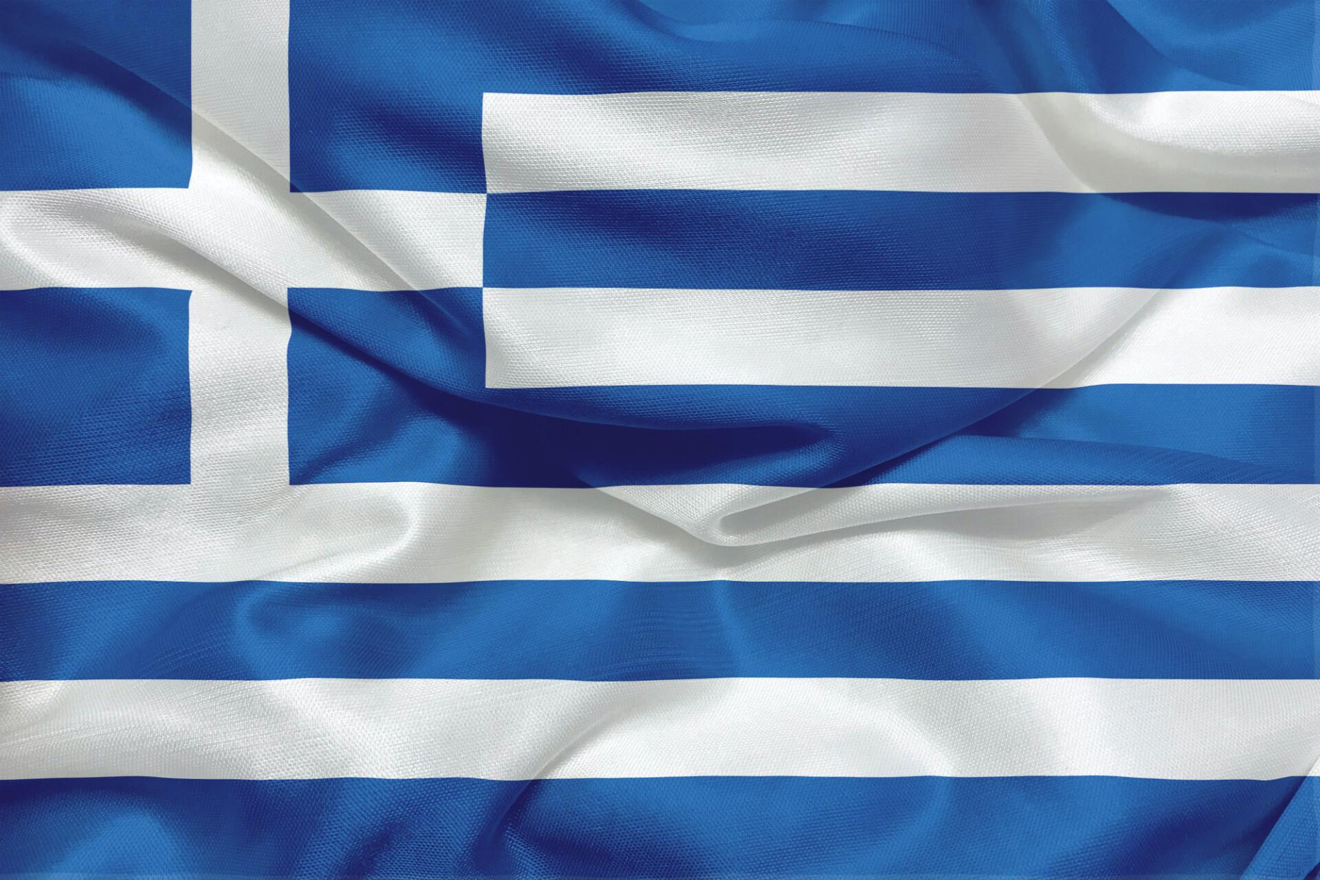 flag of greece silk banner