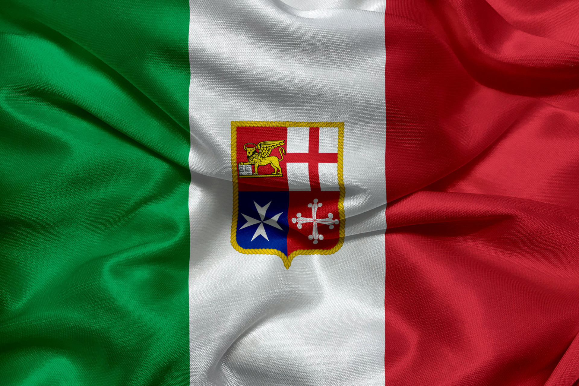 Flag of Italy - Civil Ensign of Italy