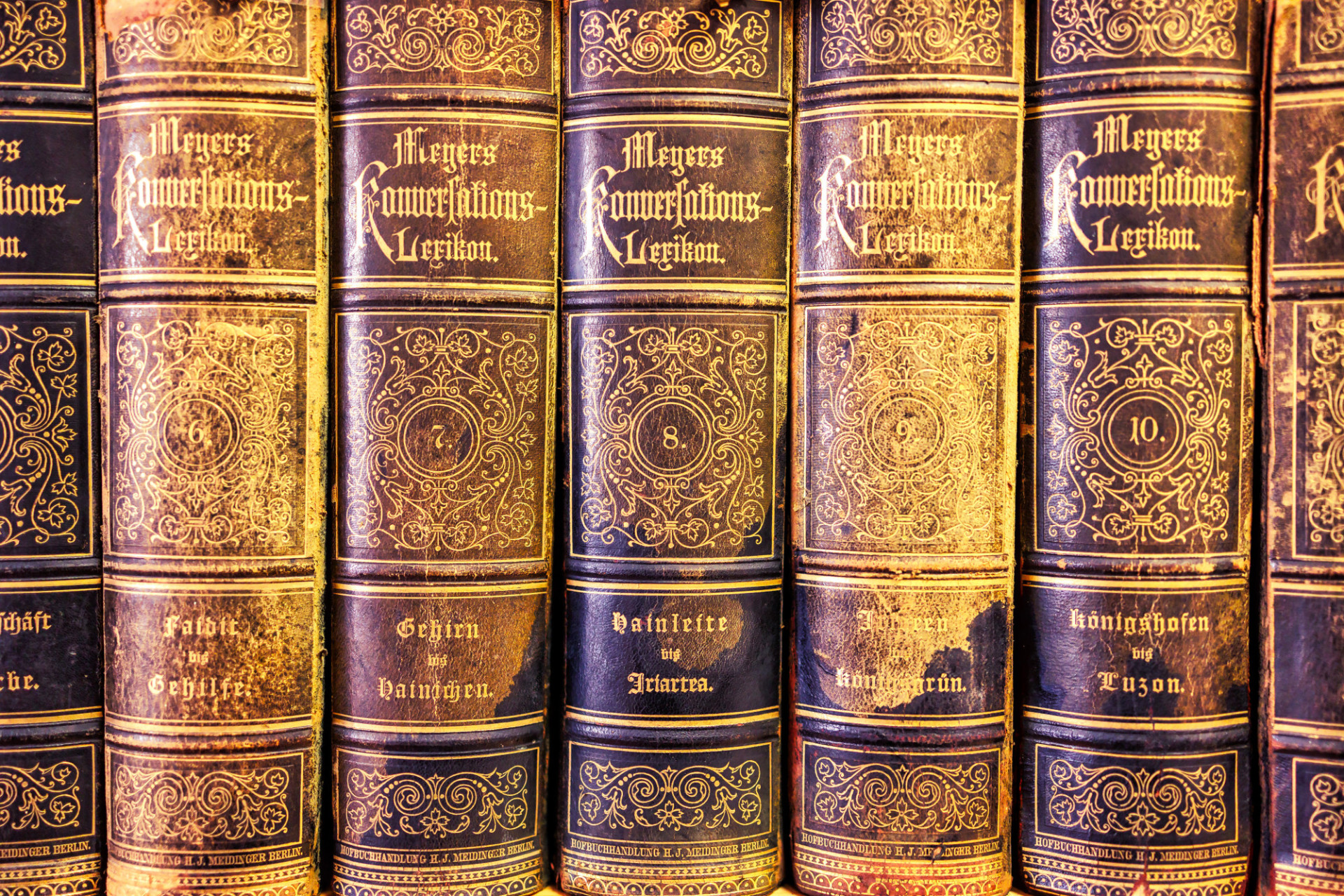 Old books background texture