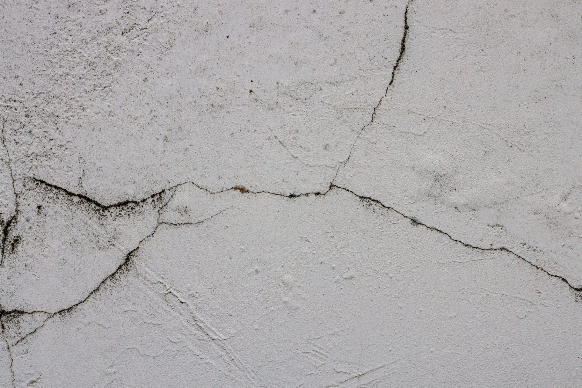 White Cracked Weathered Exterior Wall Texture