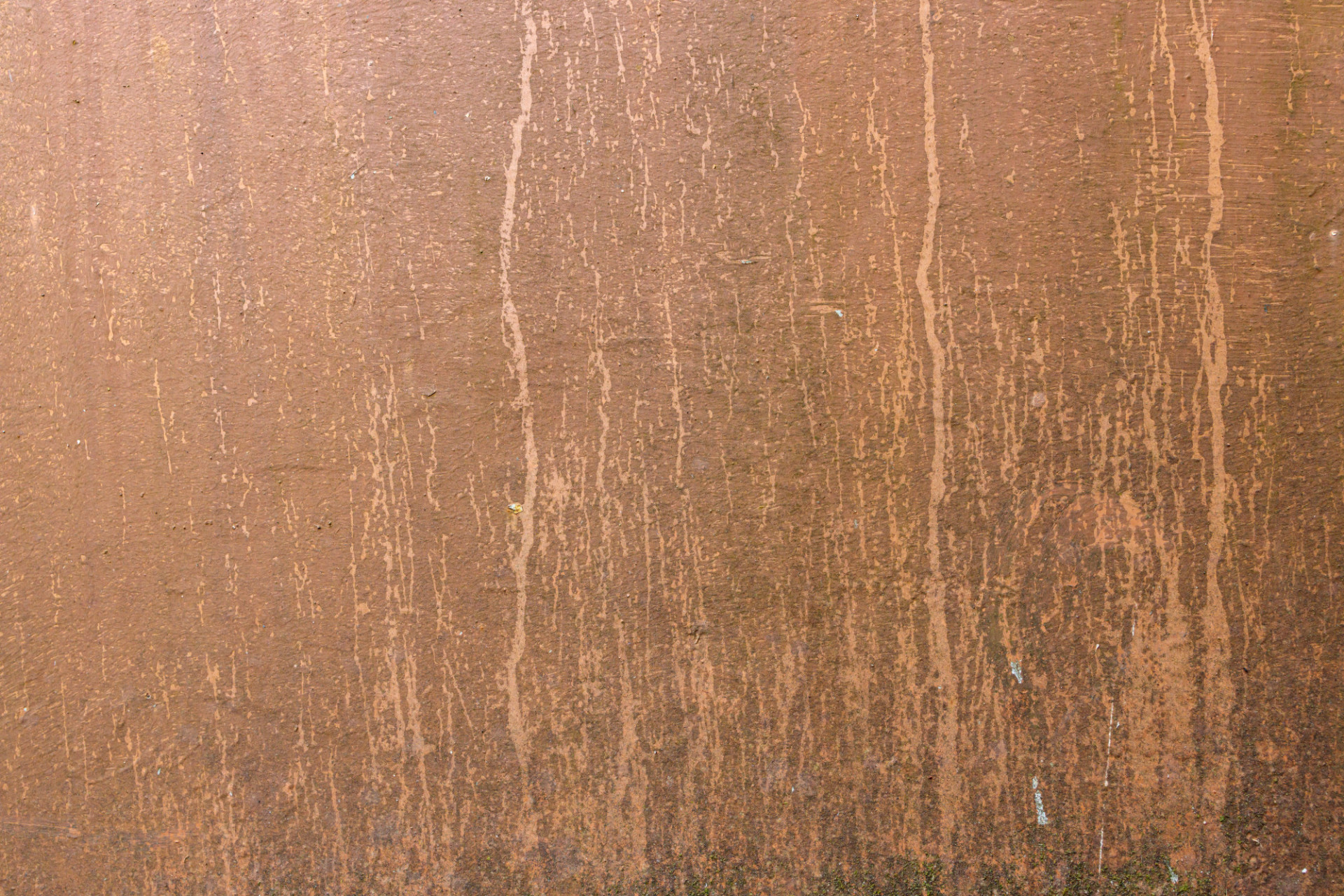 Dirty weathered copper coloured wall texture