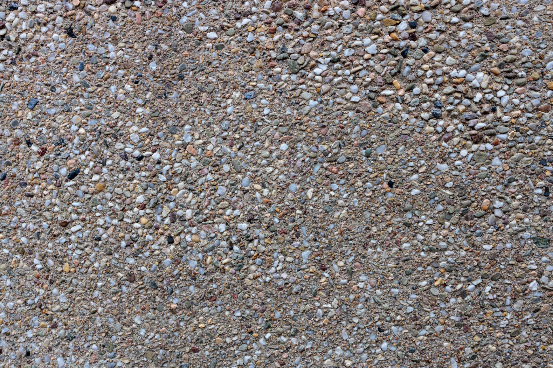 Pebble concrete texture
