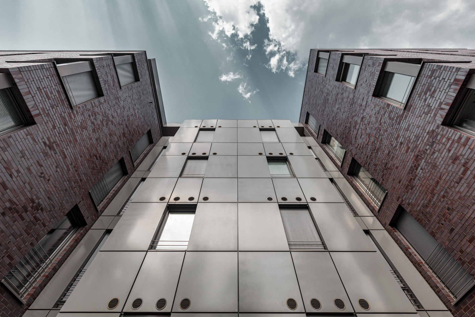 Modern Architecture Business Background