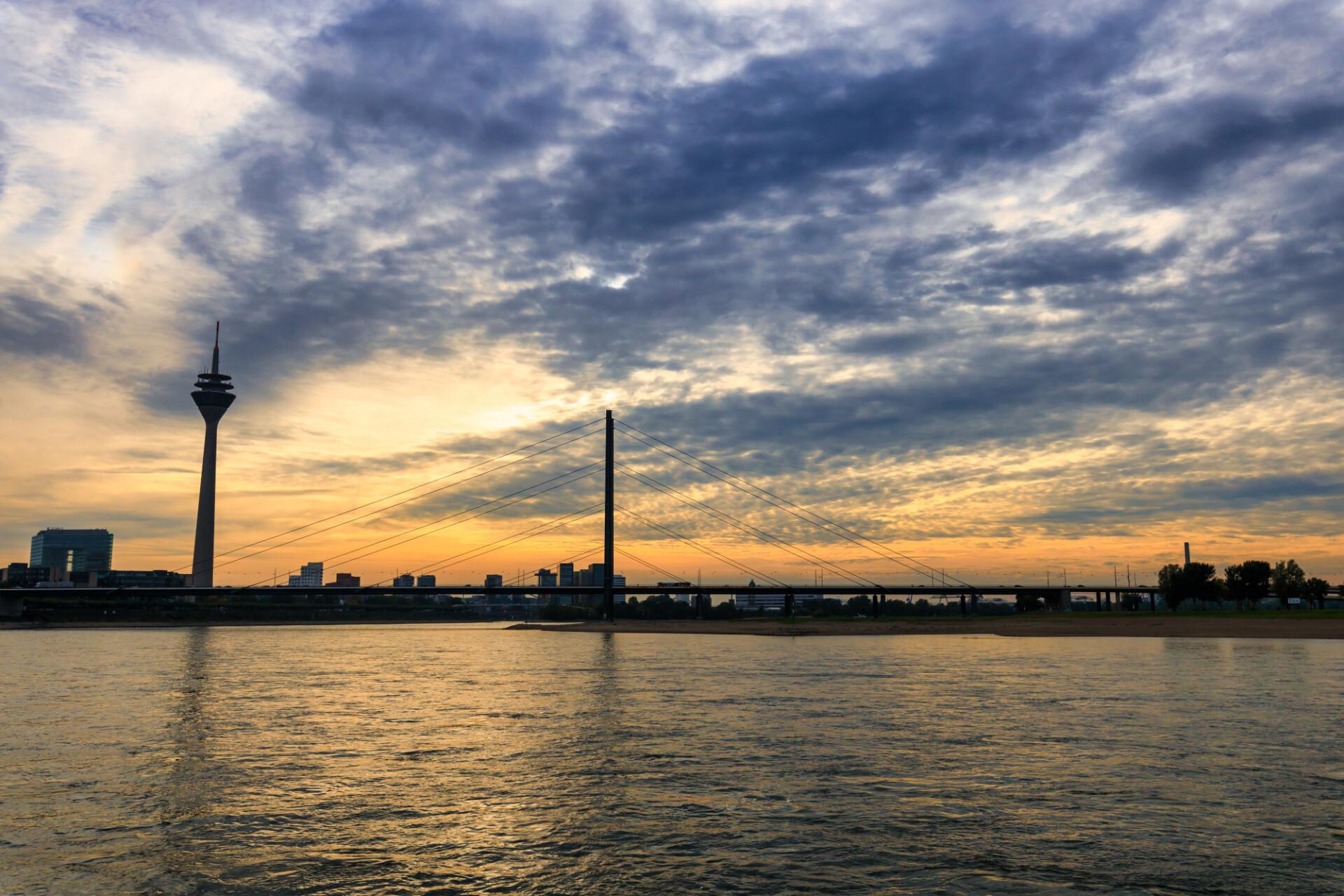 Dusseldorf on the rhine