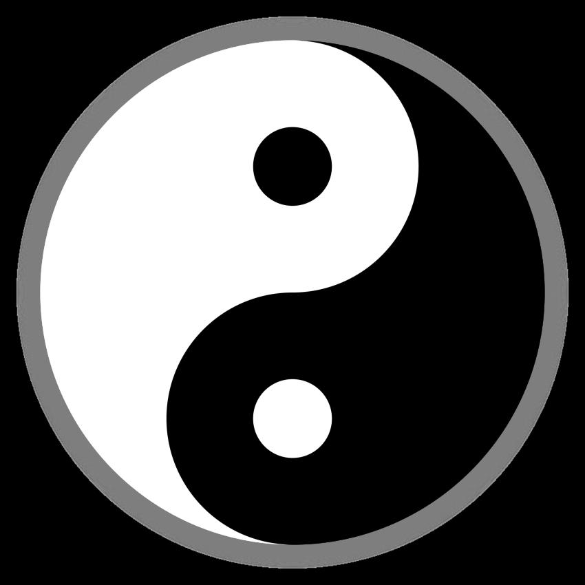 yin and yang png and vector