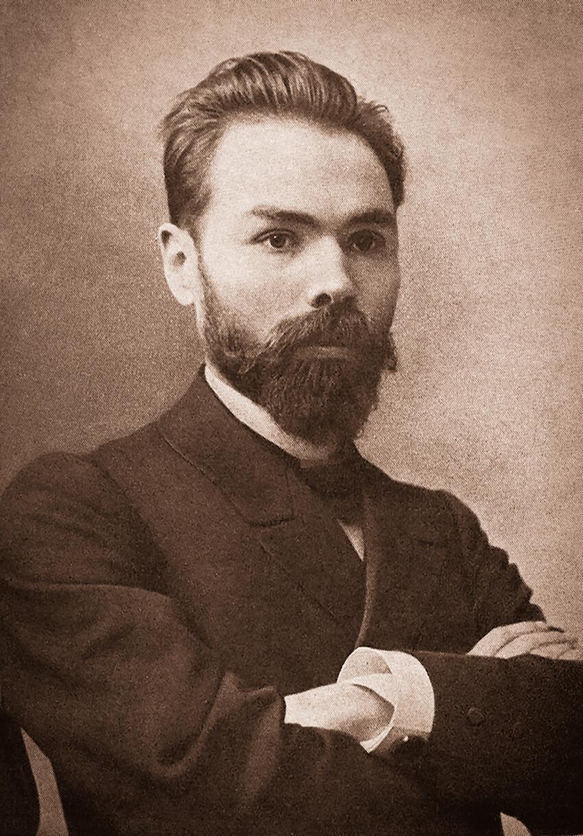 Valery Yakovlevich Bryusov 1873