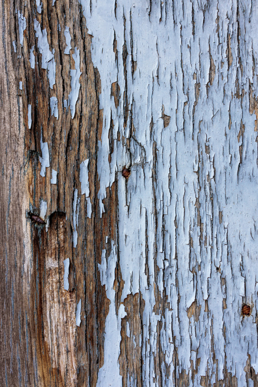weathered blue wood texture
