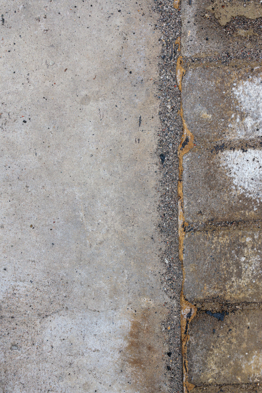 Sidewalk and street Texture