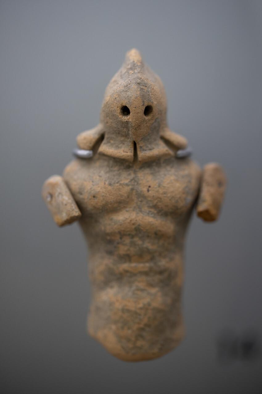 Roman stone figure