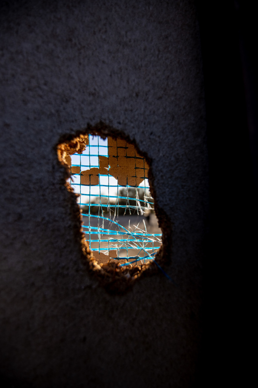 Hole in a wall