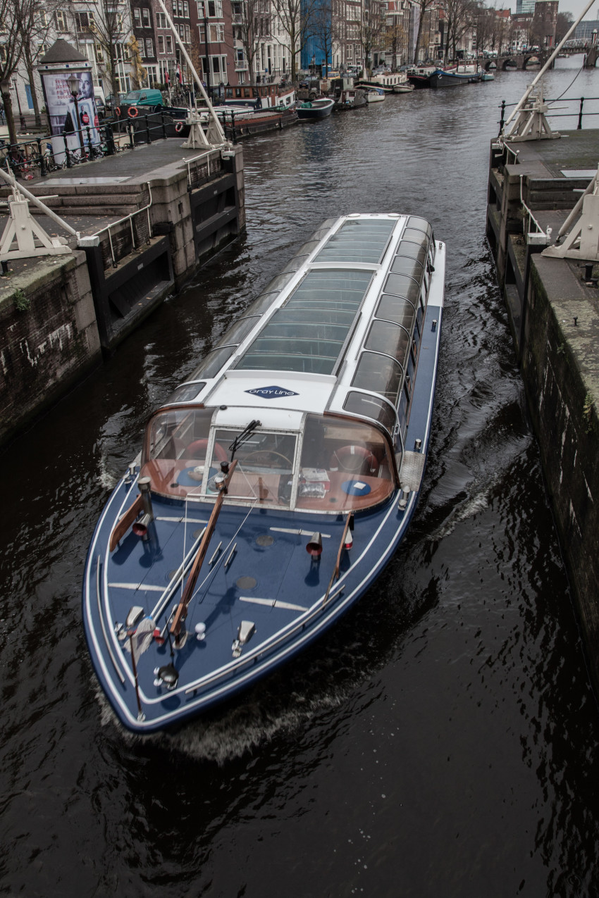ship in amsterdam
