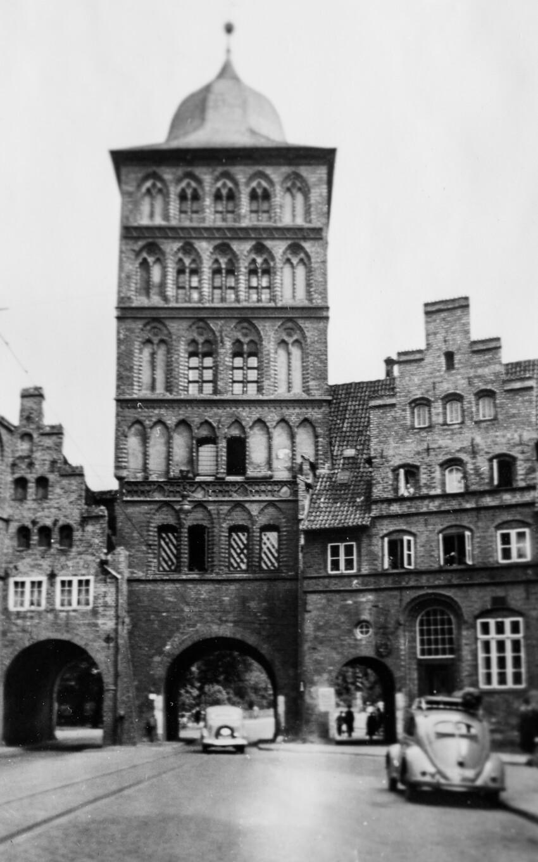 Lübeck in the post-war period 1950