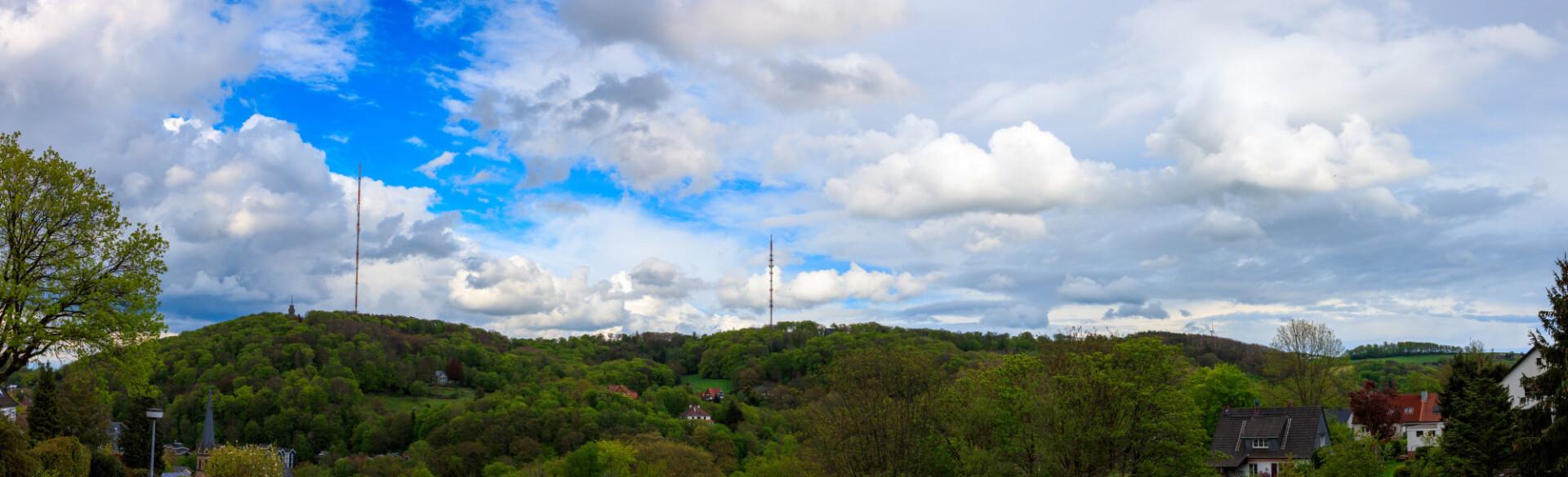 Transmitter in Velbert Langenberg Landscape