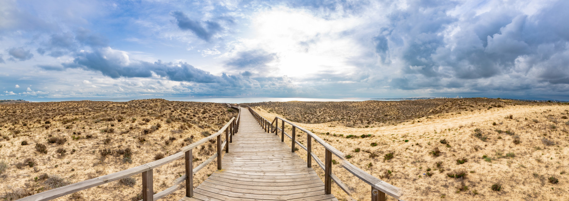 Beach Panorama in Portugal