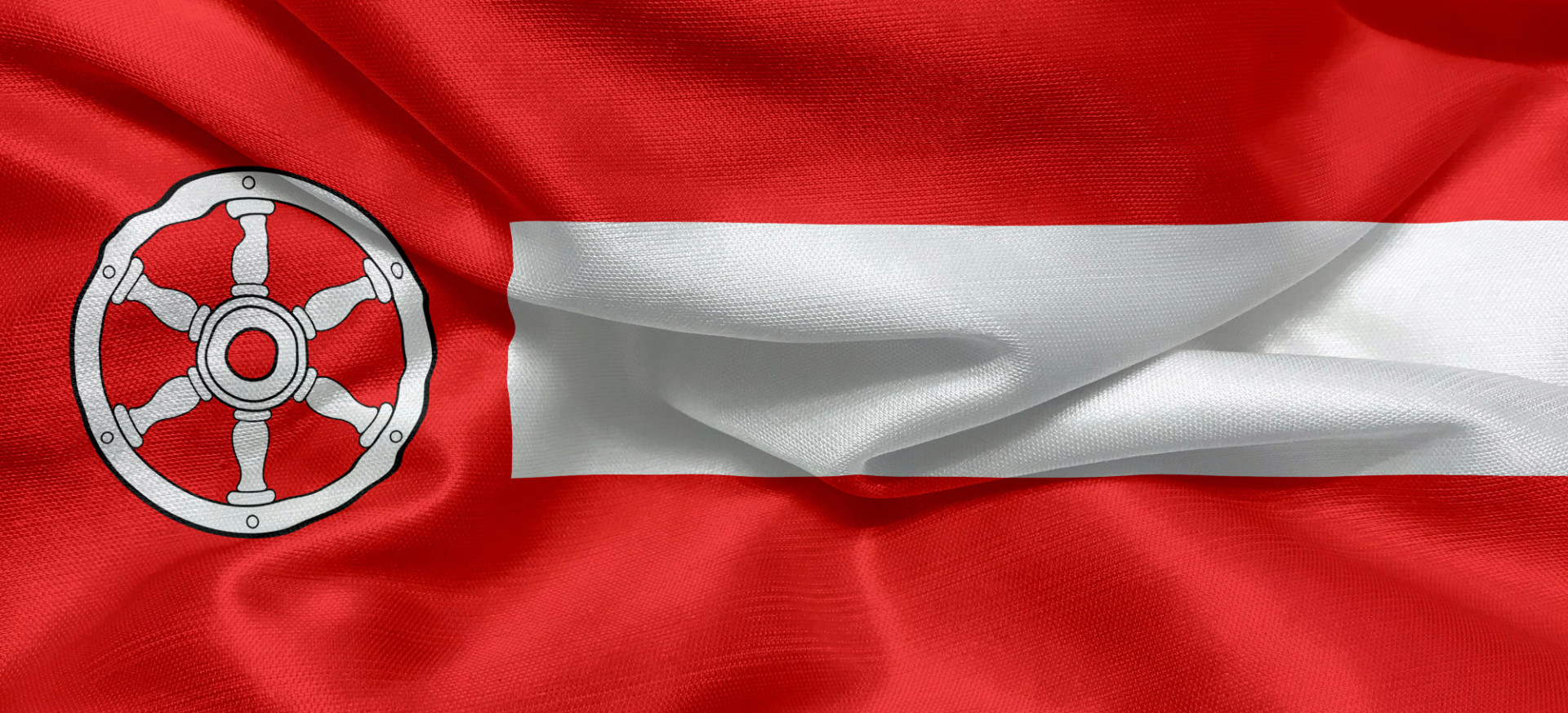 Flag of the german city of Erfurt