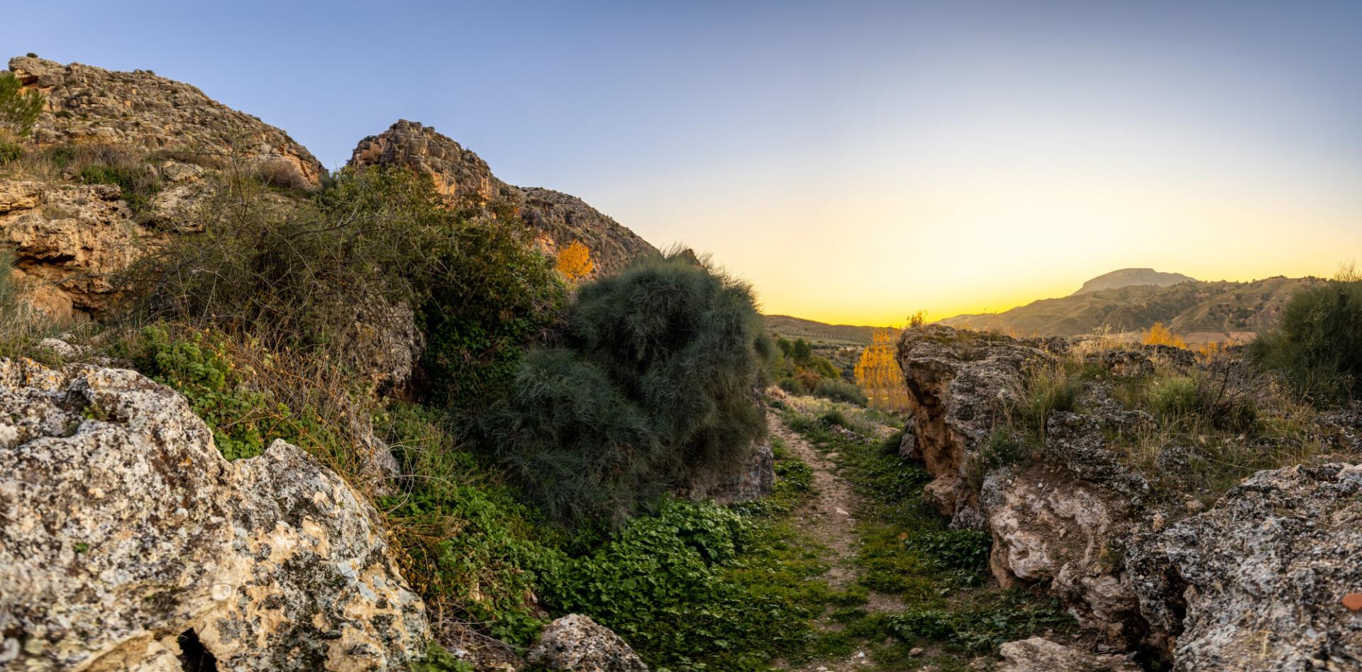 Villanueva de las Torres Granada Spain Landscape