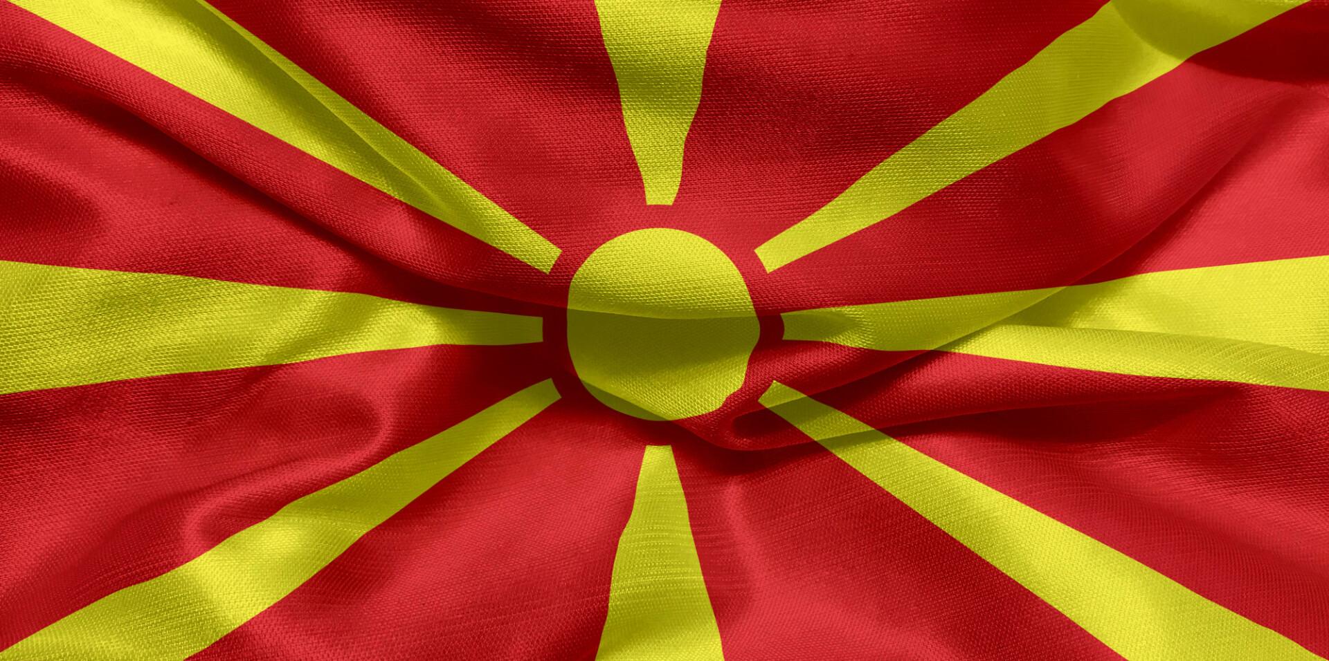 Flag of North Macedonia