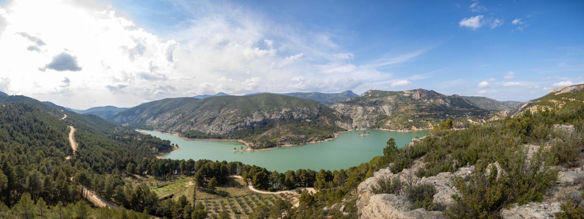 Barranco de la Hoz Landscape in Spain