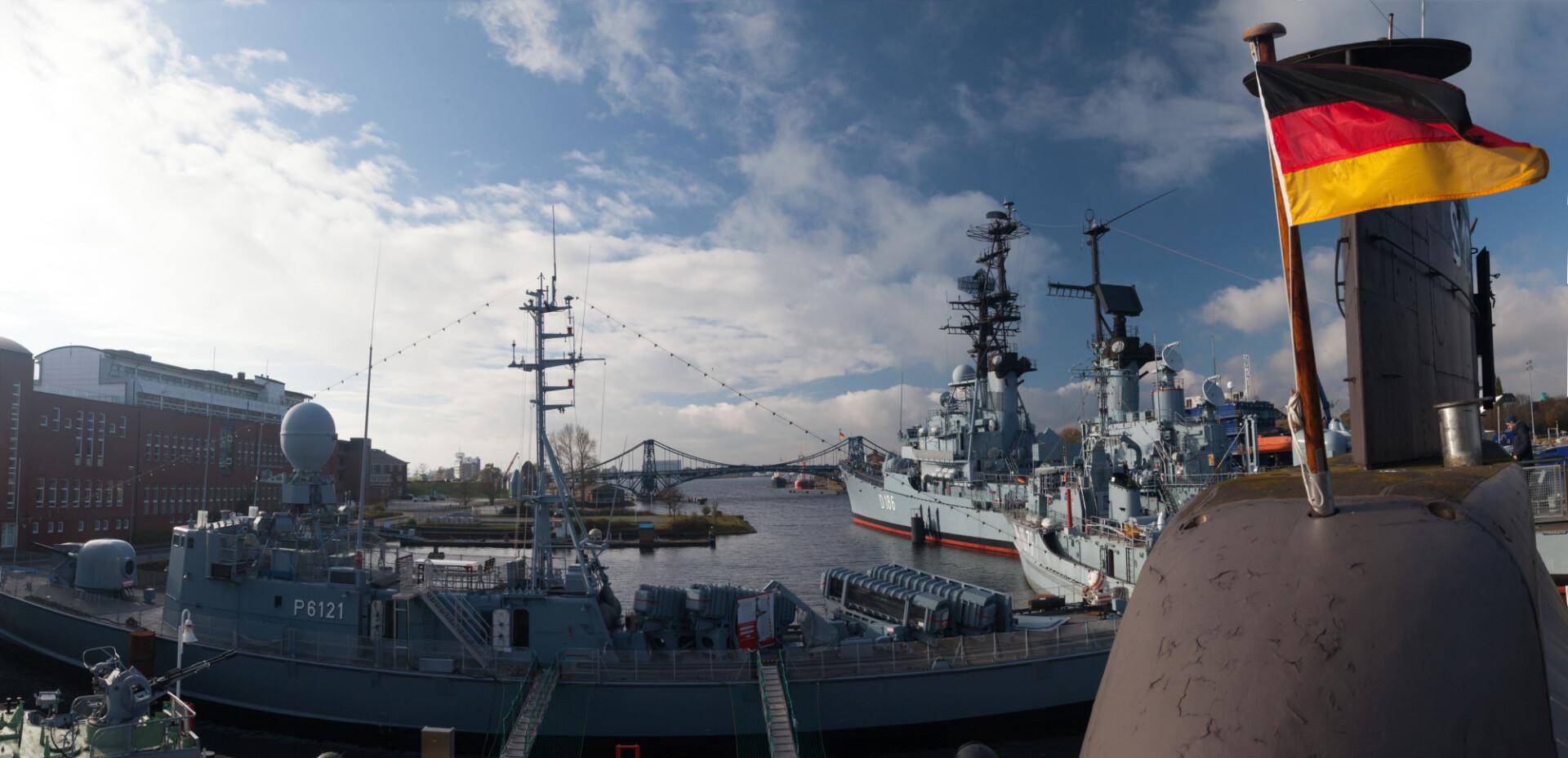 german warships