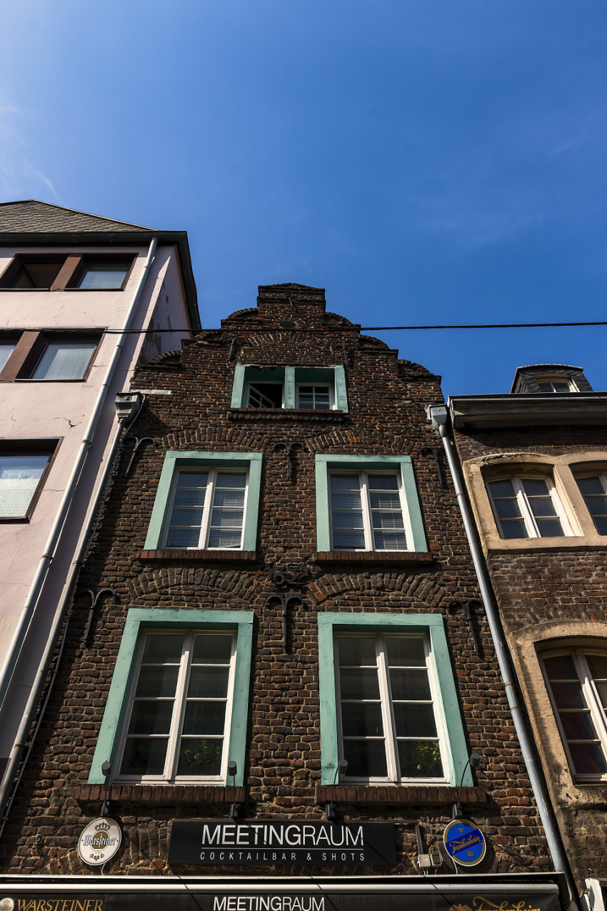 old town house in dusseldorf