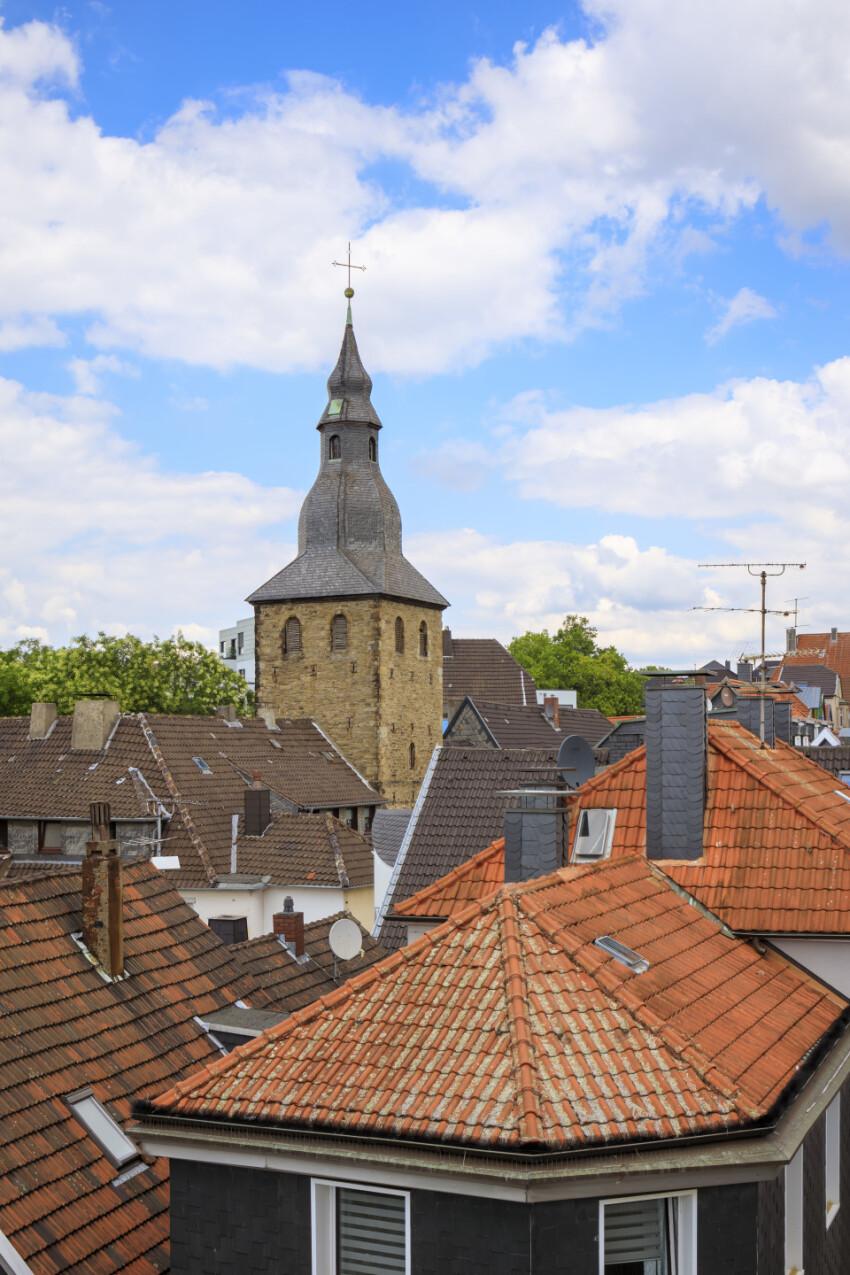 Hattingen in North Rhine Westphalia, Germany