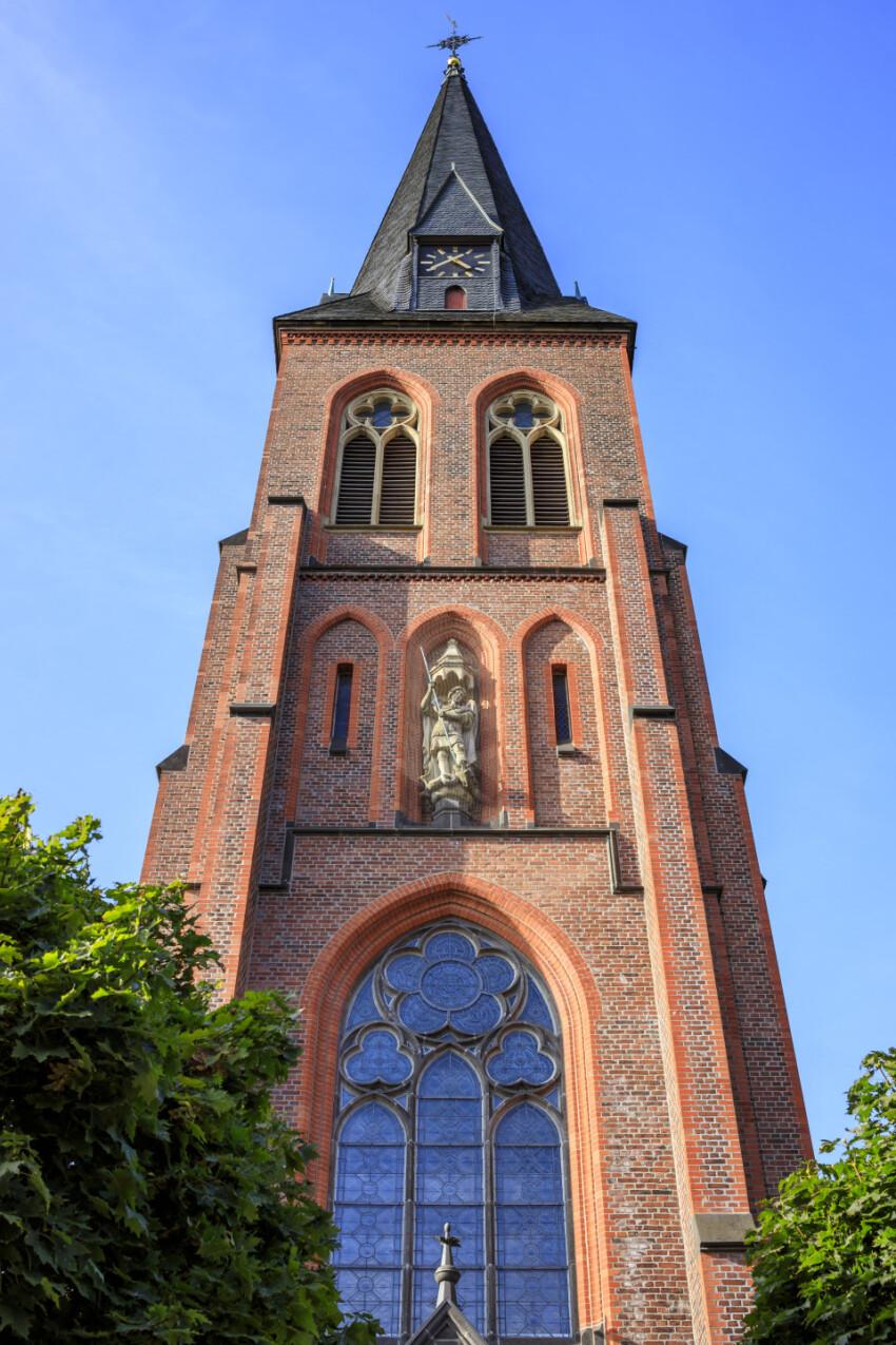 St. Michael Church in Velbert Langenberg