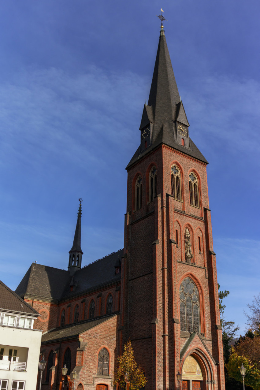 St. Michael Church in Velbert Langenberg by Germany