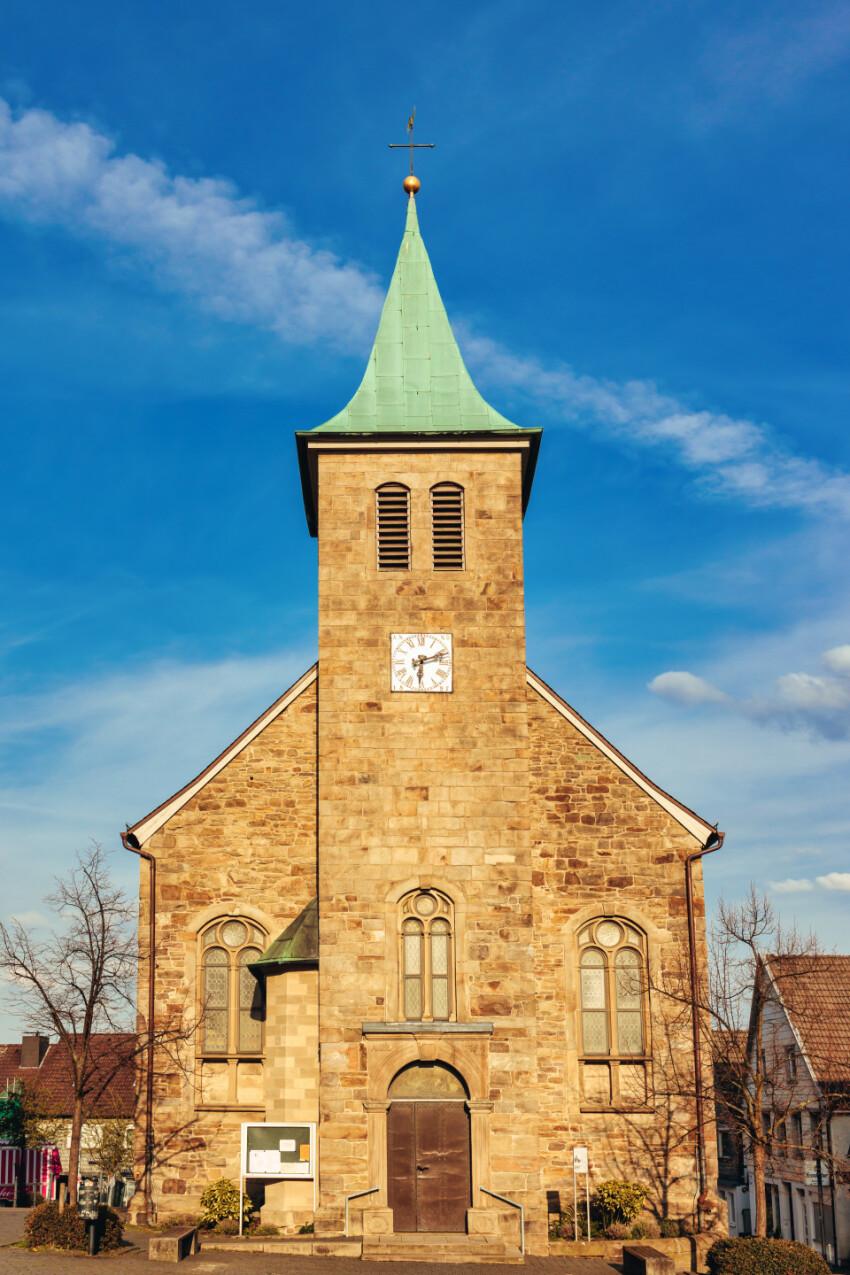 St. Johannes Baptist Church in Hattingen by Germany