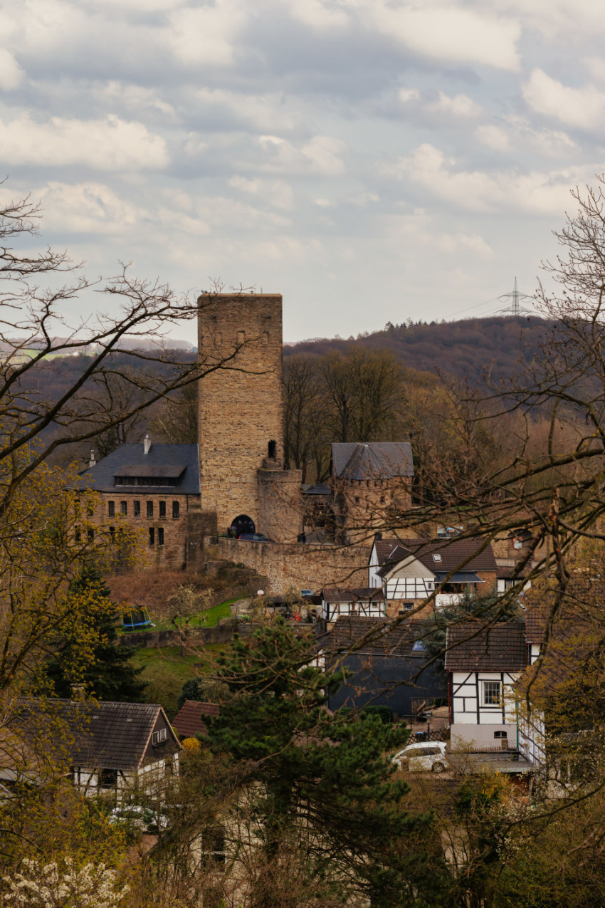 Burg Blankenstein Castle in Hattingen