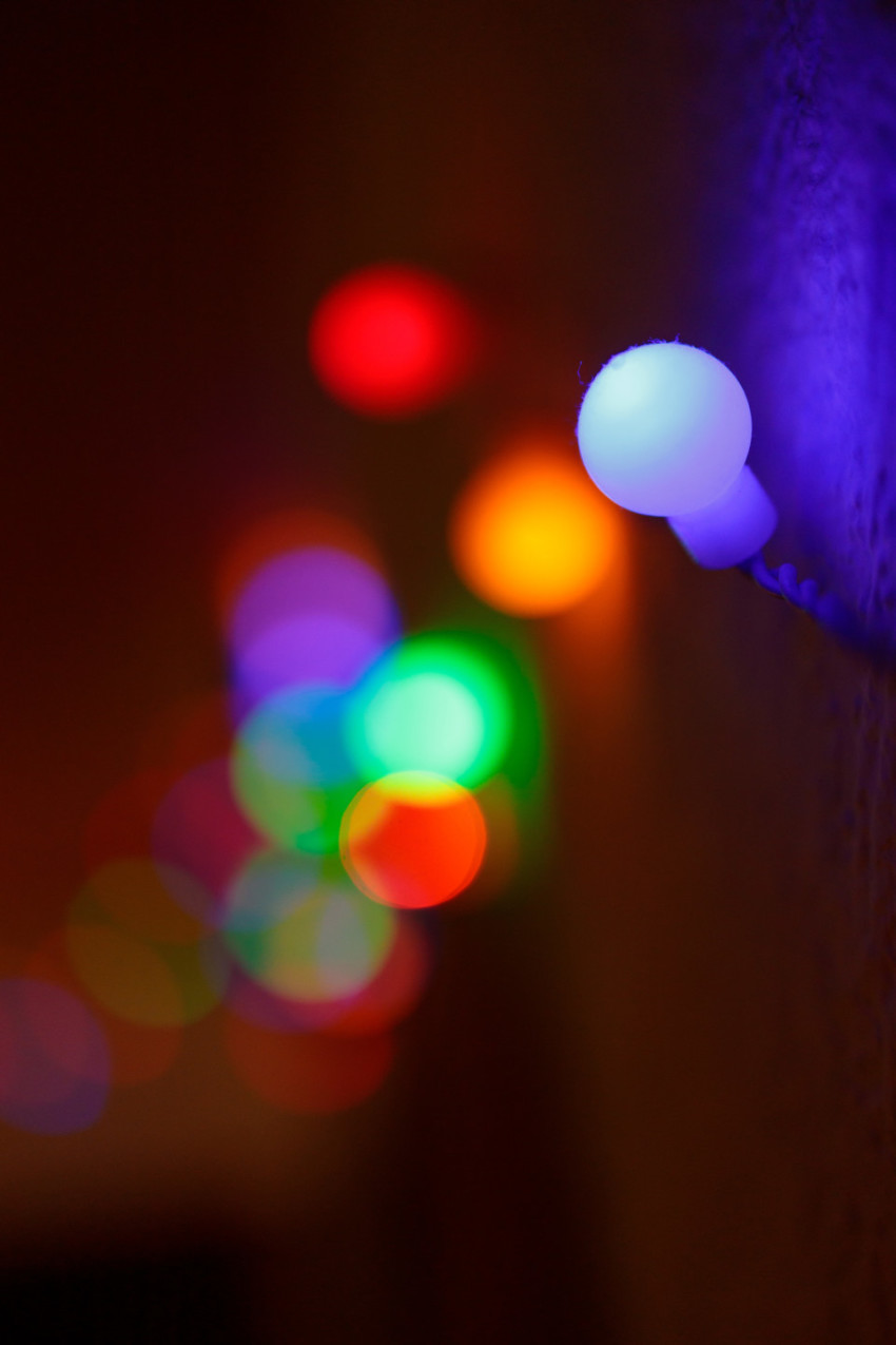 Colorful LED lights