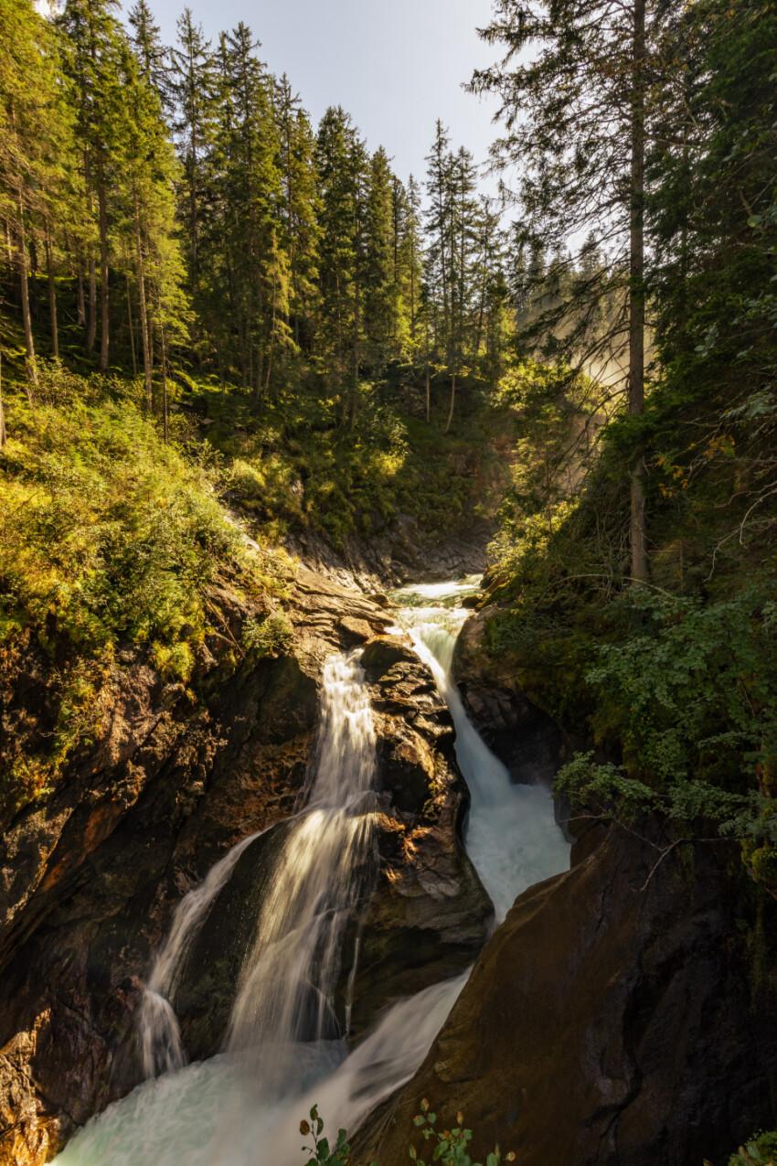 Krimmler Wasserfälle in Austria