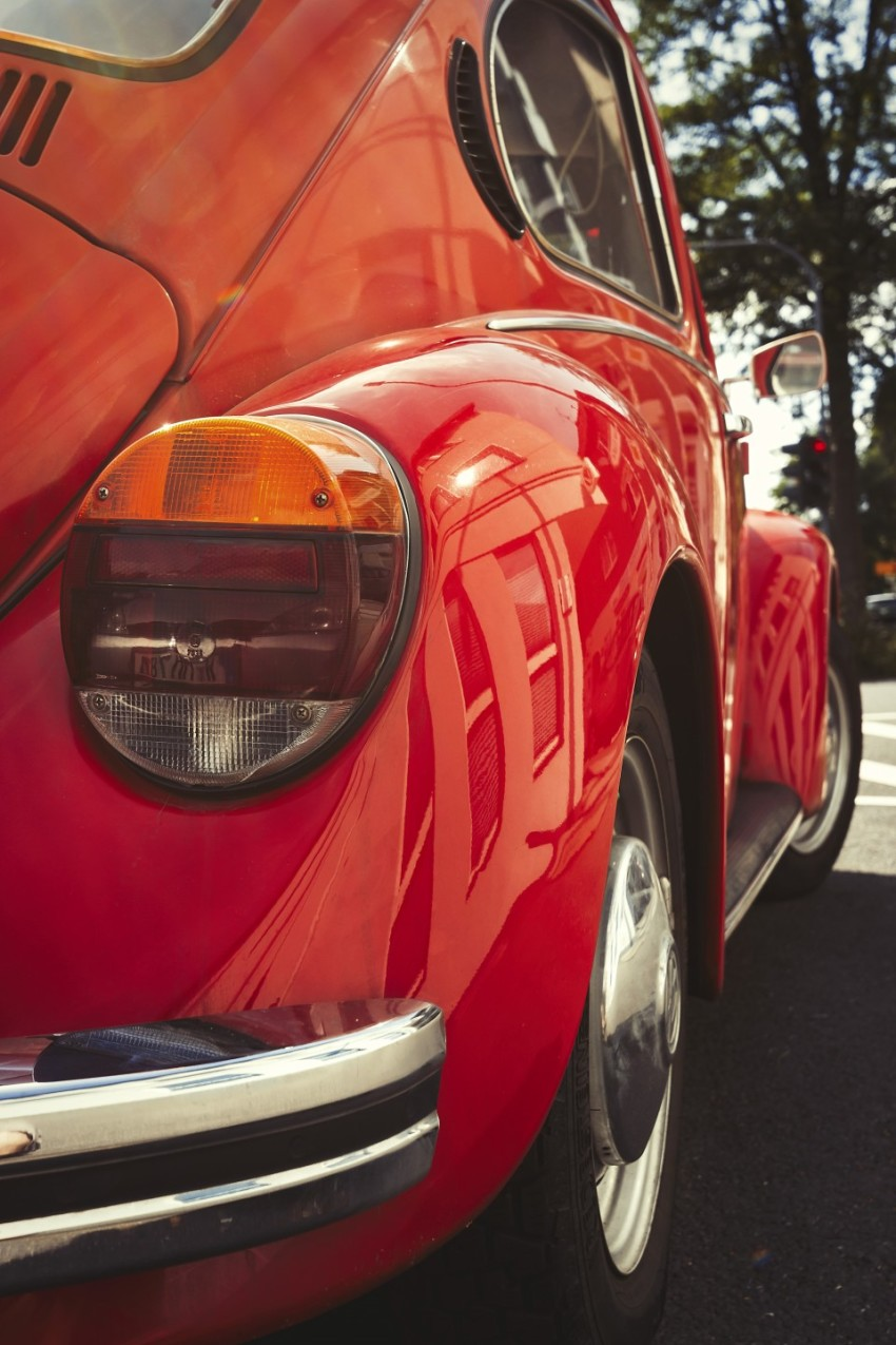 red classic car - oldtimer
