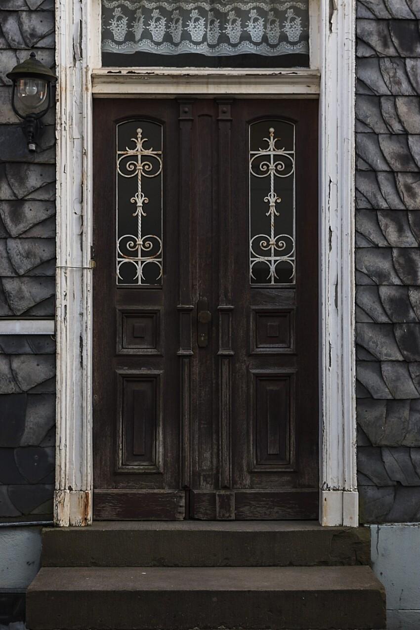 old german door texture
