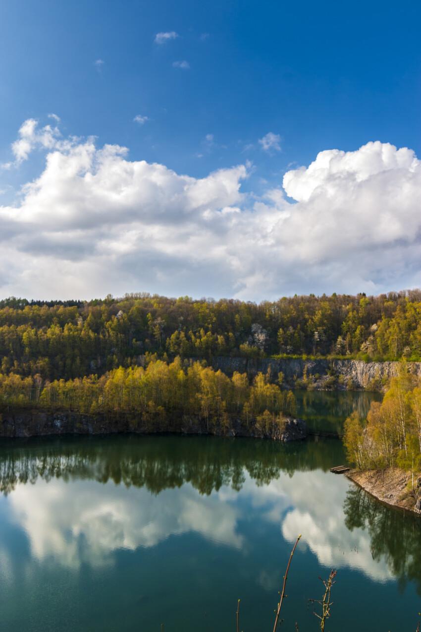 steinbruch schlupkothen german landscape panorama