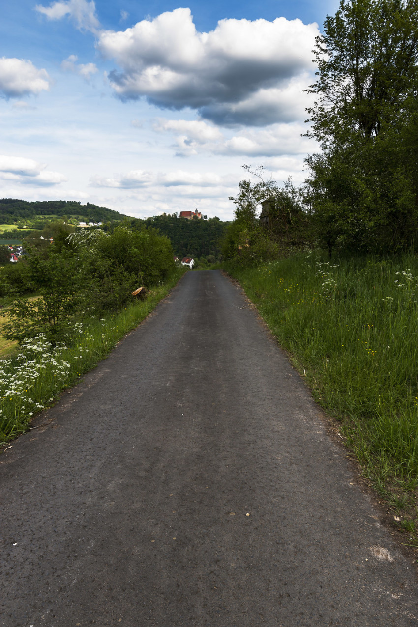 road to a castle