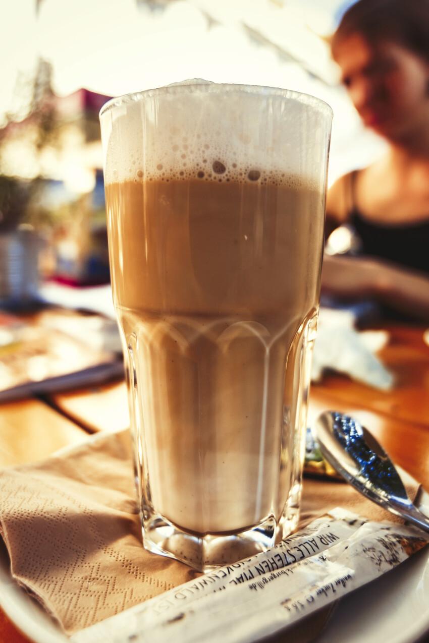 grand latte macchiato