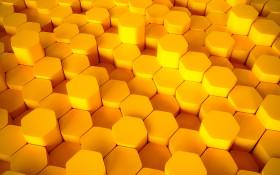 Stock Image: 3D lozengo texture background yellow
