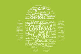 android google tag cloud green