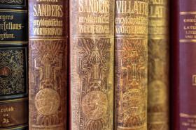 Stock Image: Antique books