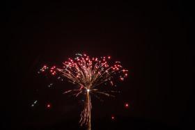 Stock Image: beautiful fireworks