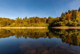 Stock Image: beautiful german lake