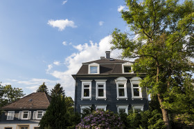 Stock Image: beautiful old estate in wuppertal