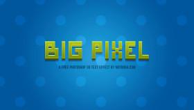 Stock Image: Big Pixel - Free Photoshop 3D Text Effect