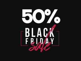 Stock Image: Black Friday Sale Banner Template PSD