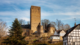Stock Image: Blankenstein Castle in Hattingen