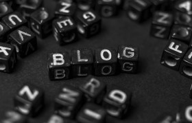 Stock Image: blog blocks