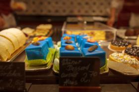 Stock Image: blue cakes