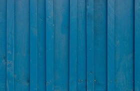 Stock Image: Blue wood background